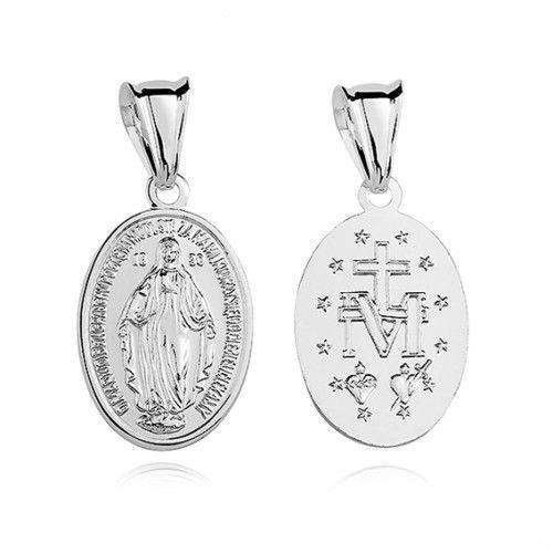 Produkt polski Cudowny medalik z matką bożą