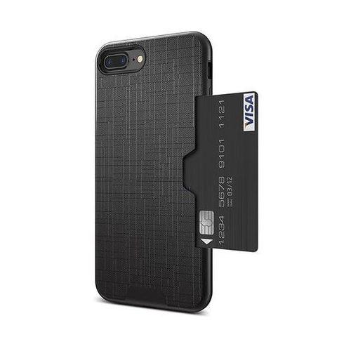 Etui 360 Pro z miejscem na kartę kredytową dla iPhone 6 - Czarne - Czarny \ iPhone 6