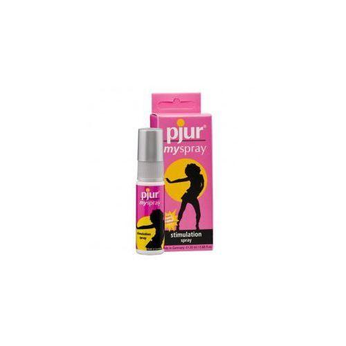 Spray stymulujący dla kobiet - Pjur MySpray 20 ml