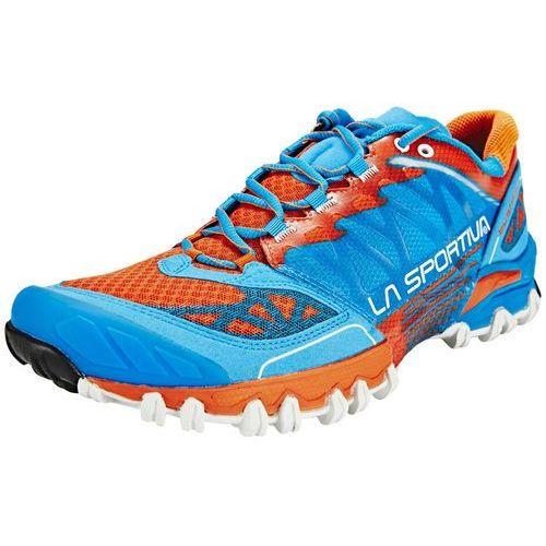 La Sportiva Bushido But do biegania Mężczyźni pomarańczowy/niebieski Buty trailowe, kolor niebieski