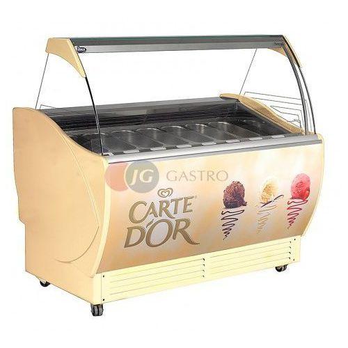 Konserwator do lodów 10 kuwet 1400x865x1300 h cornetti cr 10 marki Juka