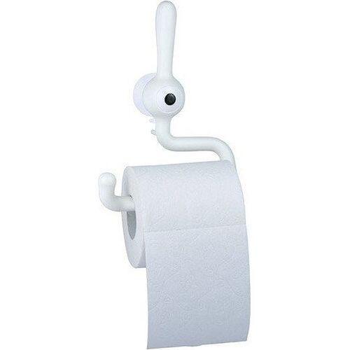 Koziol toq wieszak na papier toaletowy biały