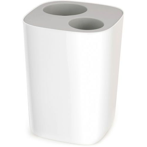 - kosz łazienkowy do segregacji odpadów, szary split™ marki Joseph joseph