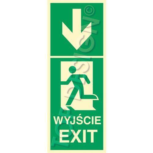 Kierunek do wyjścia w dół lewostronny / Down to Exit left side. Najniższe ceny, najlepsze promocje w sklepach, opinie.
