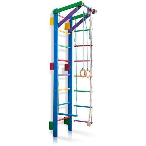 Insportline Drabinka gimnastyczna dla dzieci z akcesoriami teenager 2