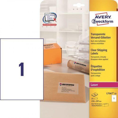 Etykiety adresowe Avery Zweckform L7567, 210x297mm