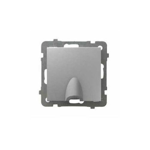 OKAZJA - OSPEL AS GPPK-1G/M/18 Przyłącz kablowy SREBRO