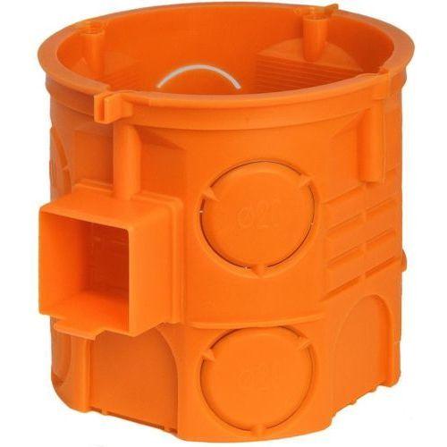 Puszka podtynkowa Simet 60mm głęboka pomarańczowa opakowanie 110 sztuk S60DF 33057008, 33057008