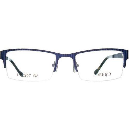 Loretto lk 2257 c3 Okulary korekcyjne + Darmowa Dostawa i Zwrot - sprawdź w wybranym sklepie