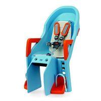 Fotelik dziecięcy guppy maxi ff - błękitno/pomarańczowy marki Polisport