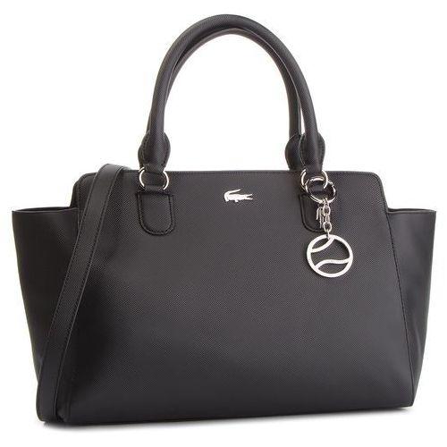 Torebka LACOSTE - Shopping Bag NF2534DC Black 000, kolor czarny