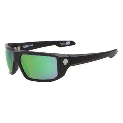 Okulary Słoneczne Spy MCCOY Polarized Matte Black-Happy Bronze Polar W/Green Spectra, kolor zielony