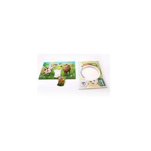 Puzzle - ja i moja rodzina - krówki marki Felico