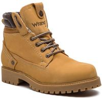 Trapery WRANGLER - Creek Fur WM182001 Tan Yellow 24, kolor żółty