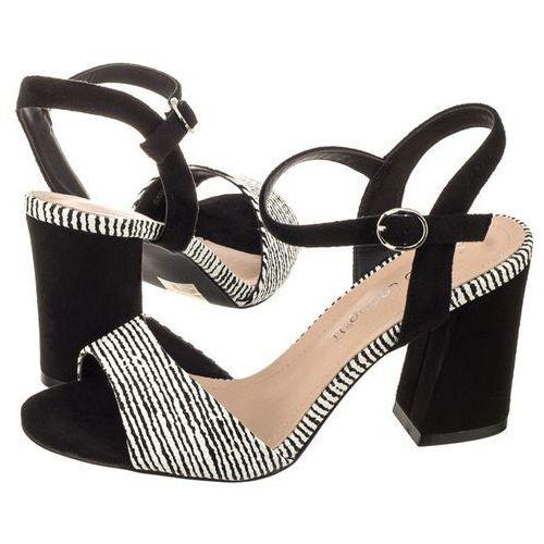 Sandały Sergio Leone Czarne Zebra SK820-01X (SL224-a), w 2 rozmiarach