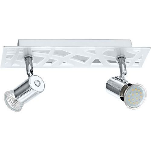 Plafon Eglo Daven 1 93176 lampa sufitowa spot 2x5W GU10-LED chrom, 93176