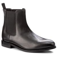 Sztyblety - ellis franklin 261273797 black leather, Clarks, 40-46