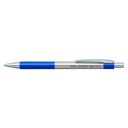Długopis automatyczny pepe 0,7mm, niebieski marki Penac