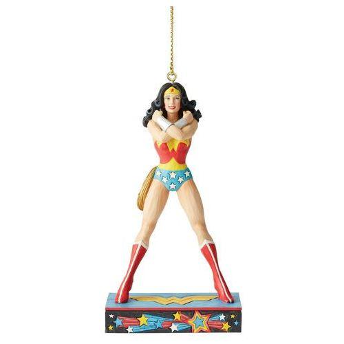 Wonder Woman bajkowa zawieszka Wonder Woman Silver Age Hanging Ornament 6005073 Jim Shore figurka ozdoba świąteczna