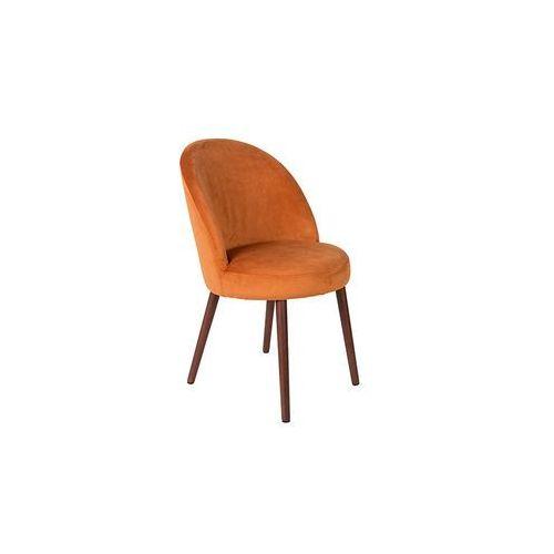 Dutchbone krzesło barbara pomarańczowe 1100339