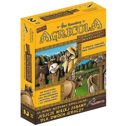 . agricola: chłopi i ich zwierzyniec. jeszcze więcej budynków do zwierzyńca - dodatek do gry marki Lacerta