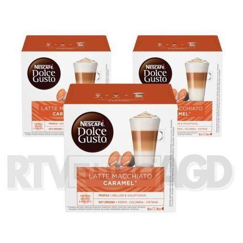 Nescafe dolce gusto latte macchiato caramel (3 opakowania)