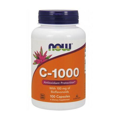 Now Foods Witamina C-1000 z bioflawonoidami i rutyną 100 kaps. (lek witaminy i minerały)