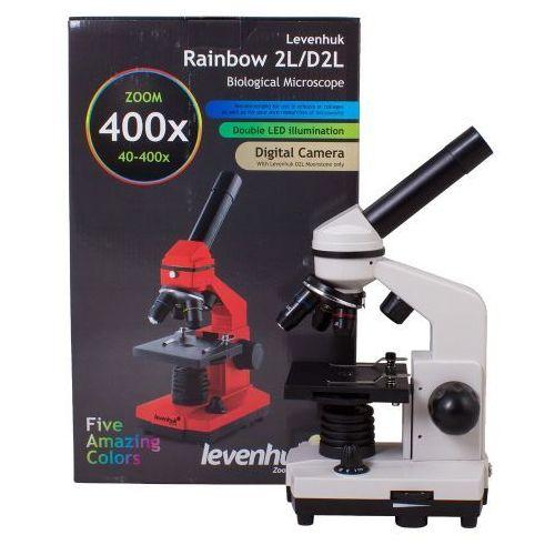 Mikroskop Levenhuk Rainbow 2L Moonstone\Kamień Księżycowy, C-LEV-69110