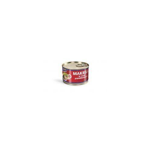Makrela w sosie pomidorowym 250 g Łosoś Ustka