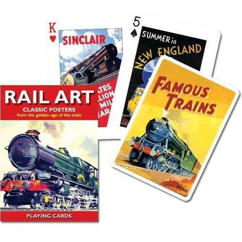 Talia tematyczna - Rail Art (9001890151118)