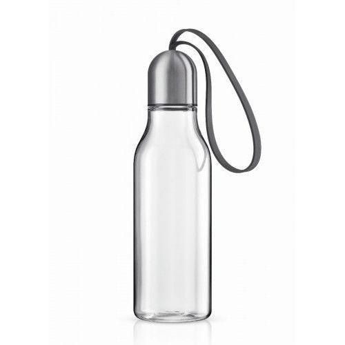 Eva solo Sportowa butelka na wodę 0,7 l, szary troczek -