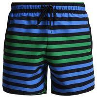 YOURTURN COLOUR BLOCK STRIPE SWIM Szorty kąpielowe blue/green, szorty