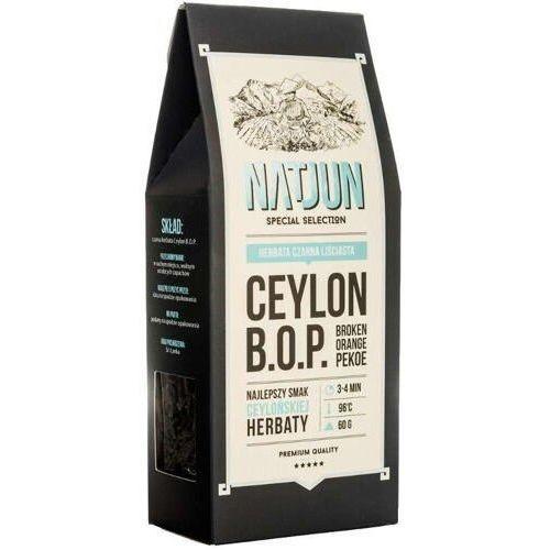 NATJUN Herbata czarna Ceylon B.O.P. 60g