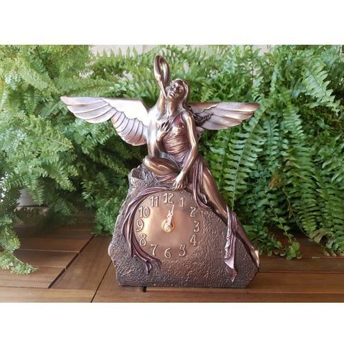 Veronese Secesyjny zegar lady z łabędziem (wu74849a4)