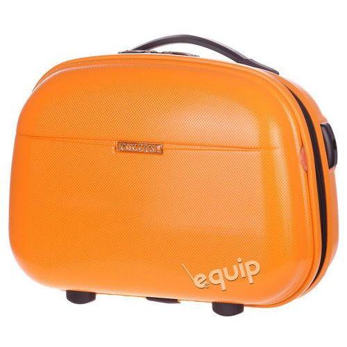 Kuferek podróżny Puccini PCQM005 - pomarańczowy