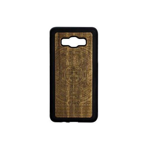 Samsung galaxy j5 (2016) - etui na telefon wood case - kalendarz aztecki - limba marki Etuo wood case