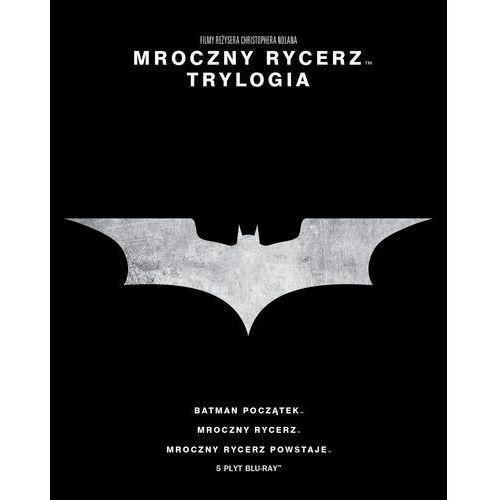 Christopher nolan Mroczny rycerz. trylogia (5 blu-ray) (płyta bluray)