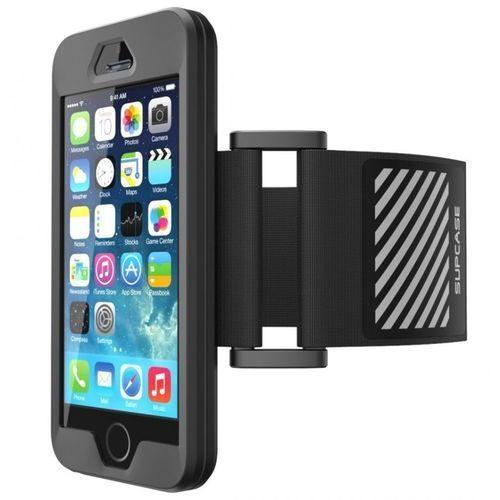 Supcase Sport Armband Black | Sportowy futerał naramienny dla Apple iPhone 5S / SE