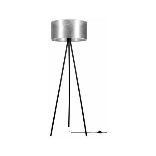 Spot-light Lampa podłogowa nevoa srebrna e27