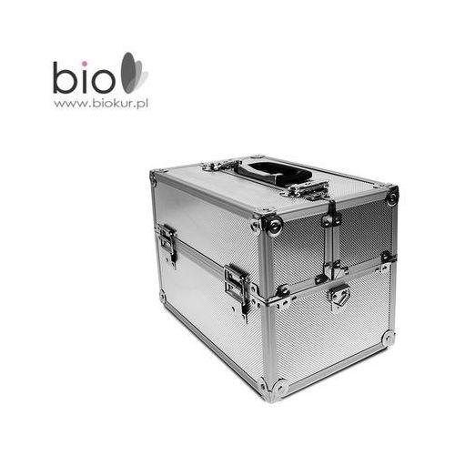 Neonail Kuferek kosmetyczny mały l srebrny –  (5903274009944)