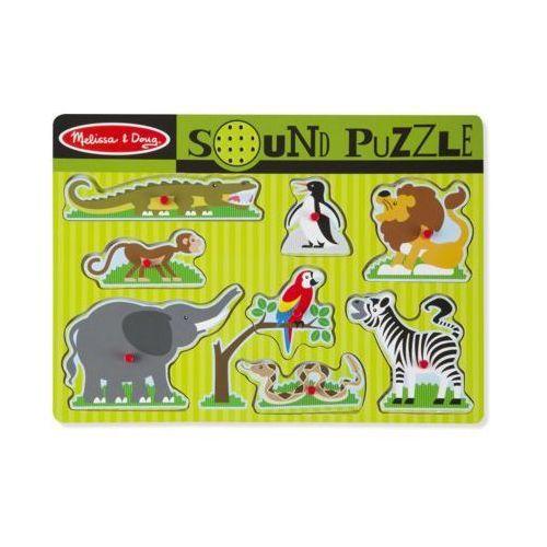 Puzzle dźwiękowe MELISSA & DOUG Zwierzęta z ZOO