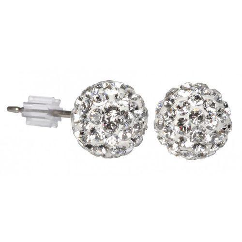 kolczyki ball pu08 crystal marki Troli