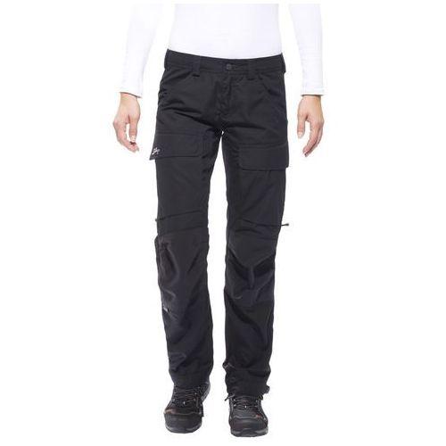 Lundhags Authentic Spodnie długie Kobiety czarny 38-długie 2018 Spodnie turystyczne, kolor czarny