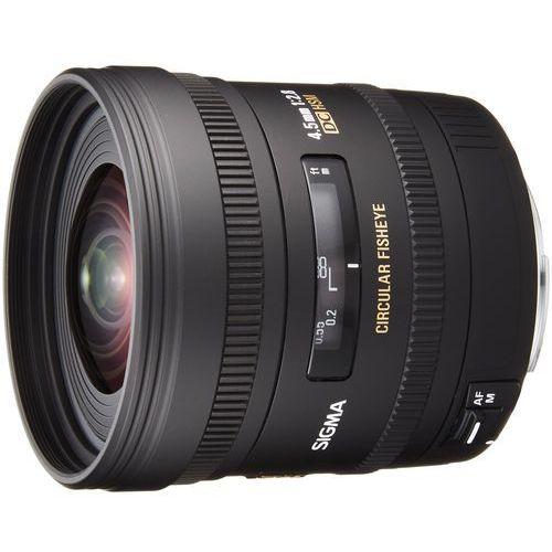SIGMA 4,5 mm F2.8 EX DC obiektyw mocowanie Canon