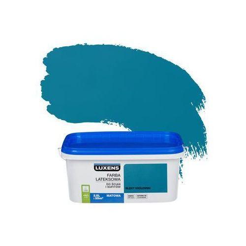 Luxens Farba wewnętrzna do ścian i sufitów emulsja 2.5 l błękit królewski