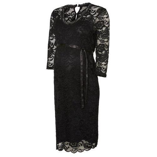 MAMALICIOUS MLMIVANA Sukienka etui black, kolor czarny