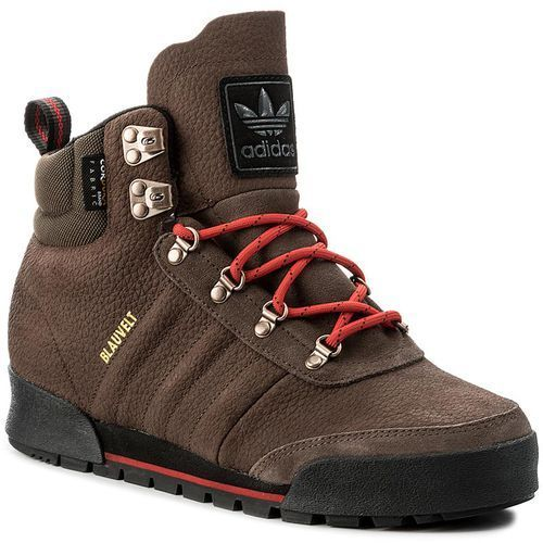 Adidas Buty - jake boot 2.0 by4109 brown/scarle/cblack