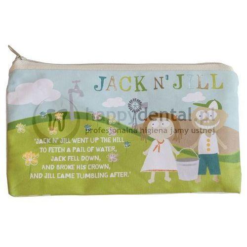 Jack n'jill Jack-n-jill sleepover bag 1szt. - bawełniana saszetka na szczoteczkę i pastę