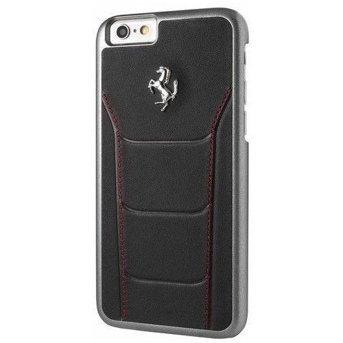 Ferrari Etui Hardcase FESEHCP6BKR iPhone 6/6S czarne DARMOWA DOSTAWA DO 400 SALONÓW !!, kolor czarny