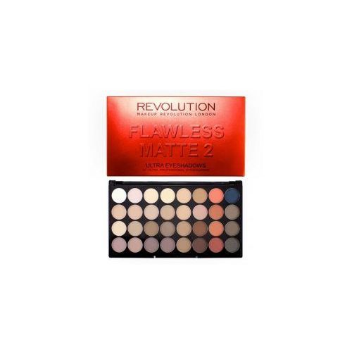 Makeup Revolution 32 Eyeshadow Flawless Matte 2, paleta cieni do powiek